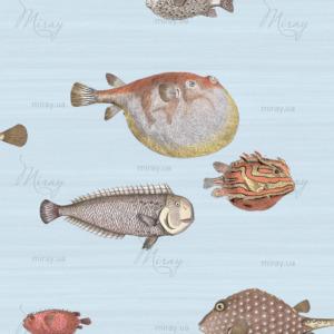 d-18-006-Рыбки винтаж фрагмент большой