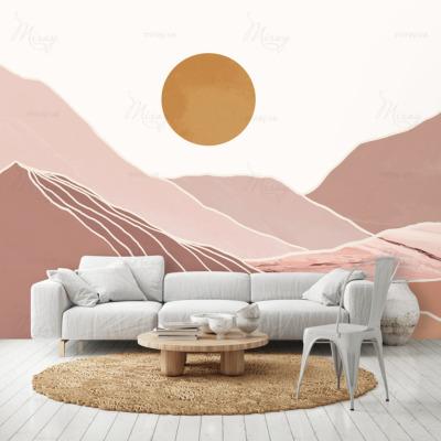 d-10-039-Горы и солнце терракотовые