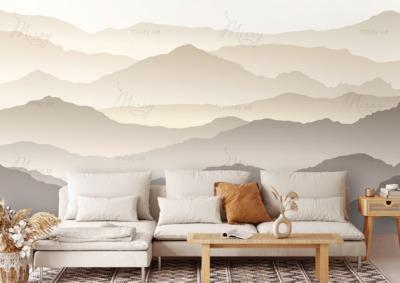 d-22-016-Горы светло-коричневые с градиентом